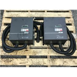 (2) AC TECH M1275C 3 PHASE DRIVE