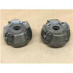 (2) SANDVIK RA265.2-080E INDEXABLE FACE MILL