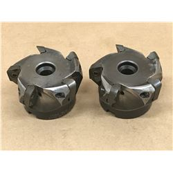 "(2) SECO R220.69-02.50-18.5A 2.50"" INDEXABLE FACE MILL"