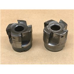 """(2) DIJET SIC-4200-075R 301-Z3691 2"""" INDEXABLE FACE MILL"""
