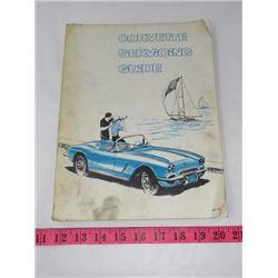 CORVETTE SERVICE GUIDE (1962)