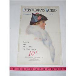 EVERY WOMAN'S WORLD MAGAZINE (NOV 1915)
