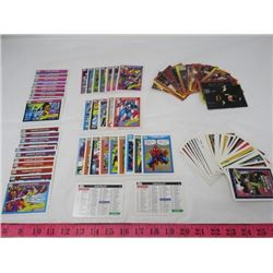 LOT OF SUPERHERO CARDS (BATMAN, SPIDERMAN, ETC)