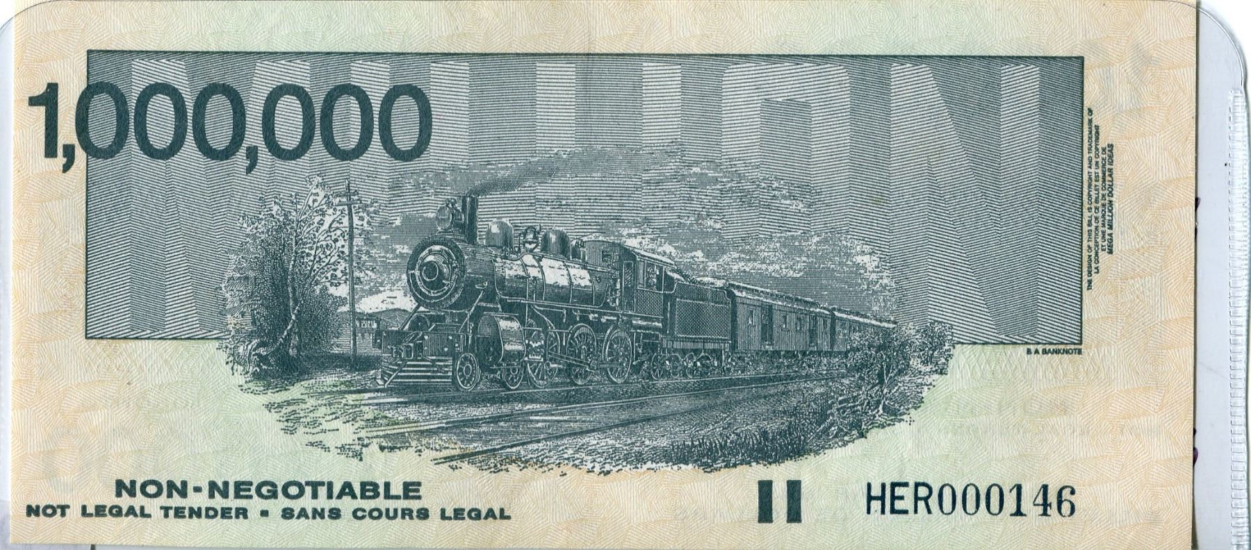 LOT of 2 TRAIN NOTES