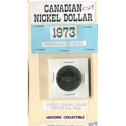 ONE DOLLAR COIN (CANADIAN) *1973*
