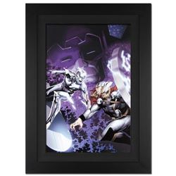 """""""The Mighty Thor #4"""" Ltd Ed Giclee on Canvas by Oliver Coipel and Marvel Comics. Numbered Out of Onl"""