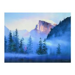 """H. Leung, """"Yosemite Morning"""" Limited Edition on Canvas, Numbered and Hand Signed with Letter of Auth"""