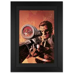 """""""New Avengers #9"""" Extremely Limited Edition Giclee on Canvas by Mike Deodato Jr. and Marvel Comics."""
