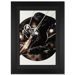 """""""Captain America #41"""" Extremely Limited Edition Giclee on Canvas (25"""" x 34"""") by Steve Epting and Mar"""