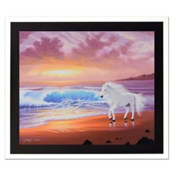 """Jon Rattenbury, """"Shores of Grace"""" Limited Edition Giclee on Canvas, Numbered and Hand Signed by the"""
