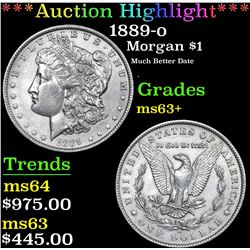 ***Auction Highlight*** 1889-o Morgan Dollar $1 Graded Select+ Unc By USCG (fc)