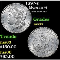 1897-s Morgan Dollar $1 Grades Select Unc