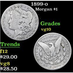 1899-o Morgan Dollar $1 Grades vg+
