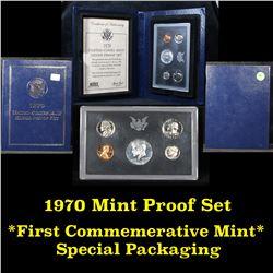1970 United States Mint Proof Set . .