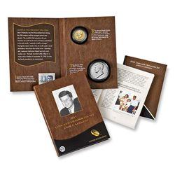2015 John F. Kennedy Coin And Chronicles Set . . Modern Commem Dollar $1 Grades