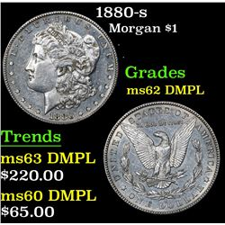 1880-s Morgan Dollar $1 Grades Select Unc DMPL