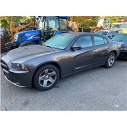 2014 DODGE CHARGER, GREY, GAS, AUTOMATIC, VIN#2C3CDXAT5EH353540, 180,411KMS, X-POLICE,