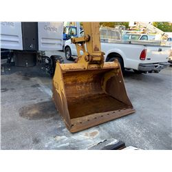 2013 CAT 314ELCR EXCAVATOR, YELLOW, DIESEL, VIN#CAT0314ECZJT00515, 1555 HOURS, PPM MONITOR, HAS