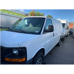 2004 GMC SAVANA, 5DRVAN, WHITE, GAS, AUTOMATIC, VIN#1GTEG15T941146083, 127,038KMS, RD,CD, NEEDS NEW