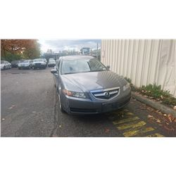 2005 ACURA TL, GREY, 4DRSD, GAS, AUTOMATIC, VIN#19UUA66235A801731, 310,333KMS,