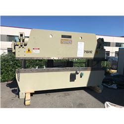 ACCURPRESS MODEL 713012 DATE 4-93, HP 30 HZ60 V230 A 76, SCHEMATIC: P0000EL100ESP2F