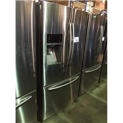 SAMSUNG RF23HCEDBSR STAINLESS 3 DOOR, FRENCH DOOR REFRIGERATOR WITH WATER & ICE MAKER