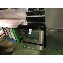WHIRLPOOL CERAMIC TOP BLACK & STAINLESS STEEL OVEN