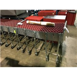 COLLAPSIBLE MOBILE ROLLER CONVEYOR SYSTEM