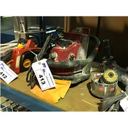 CHD LIGHT-DUTY CUTTING EDGE MACHINE 3HP 8500RPM 220V 15KG