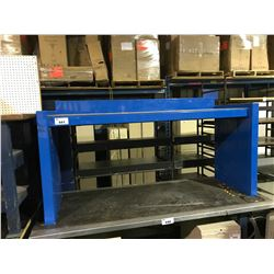 BLUE METAL HEAVY DUTY EQUIPMENT STAND