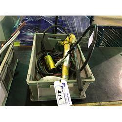 ENERPAC RCH123 12 TON PORT-A-POWER & AIR HOSE