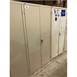 ARTOPEX TAN METAL 2 DOOR CONSUMABLE CABINET
