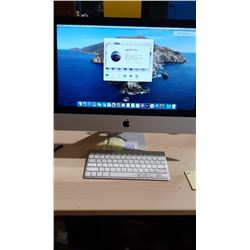 "IMAC 21""  WITH 2.7GHZ I5 PROCESSOR, 8GB RAM, MAC OS CATALINA SYSTEM"