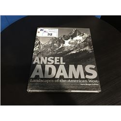 ANSEL ADAMS LANDSCAPES OF THE AMERICAN WEST LARGE COFFEE TABLE BOOK