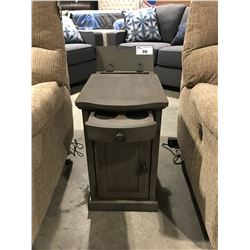 POWER CONSOLE SIDE TABLE