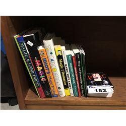GROUP OF BOOKS ON MAGIC & CARD TRICKS