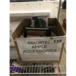 1 BOX ASSORTED APPLE ACCESSORIES
