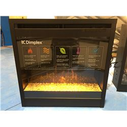 DIMPLEX ELECTRIC FIRE PLACE WITH REMOTE