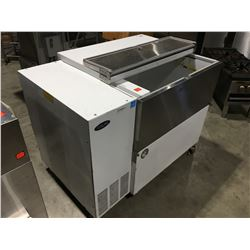 NORLAKE REFRIGERATOR WITH LIFT TOP