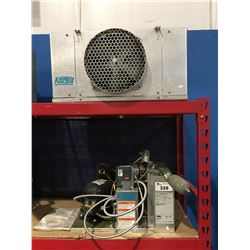 KEEPRITE REFRIGERATION 2 PCE COOLER CONDENSING UNIT & FAN
