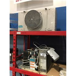 KEEPRITE REFRIGERATION 2 PCE FREEZER CONDENSING UNIT & FAN