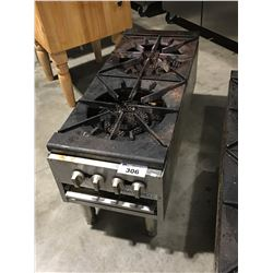 PATRIOT FOOD SERVICE DOUBLE GAS BURNER