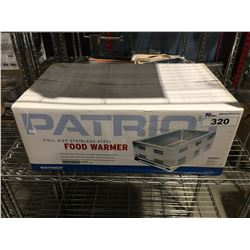PATRIOT FULL-SIZE STAINLESS-STEEL FOOD WARMER