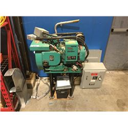 ONAN 4.0RV GENSET - COMPLETE WITH GENERATOR TRANSFER SWITCH, FUSE BOX, MANUAL, BATTERY &