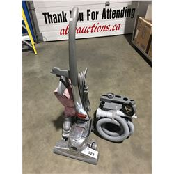 KIRBY SENTRIA UPRIGHT VACUUM WITH ACCESSORIES PACK - (NEEDS POWER-HEAD BELT)