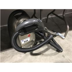 HOOVER WINDTUNNEL ANNIVERSARY EDITION CANISTER VACUUM (CORD RETRIEVER COVER MISSING, NO POWER-HEAD)