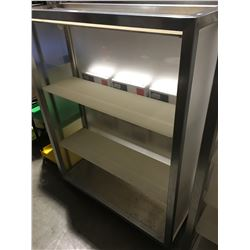 ROLLING DOUBLE SIDED DISPLAY STAND