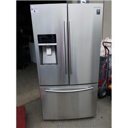 SAMSUNG STAINLESS STEEL FRENCH DOOR FRIDGE WITH BOTTOM FREEZER AND WATER + ICE