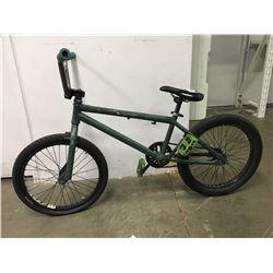 GREEN UNKNOWN BMX BIKE