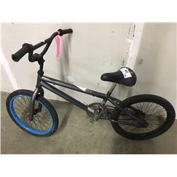 GREY BMX BIKE